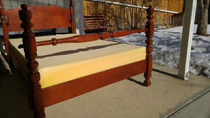 Antique Imperial Loyalist Cherry Bed