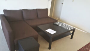 L shaped IKEA Couch for sale! Very good price