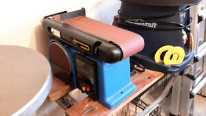 Mastercraft never used belt and disc sander