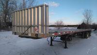 2004 48 ft transcraft eagle flatbed trailer