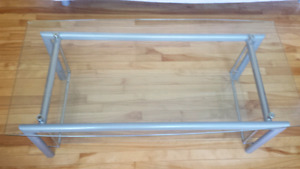 Structube glass coffee table