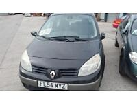 2004 Renault Scenic 1.6 VVT 115 Dynamique PX IN AS IS NEW MOT AND SERVICE