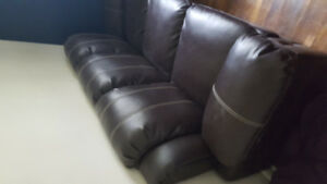 Couch faux Leather