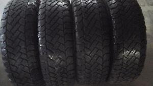 4 pneus d'hiver 225-60-16 tres bonne condition