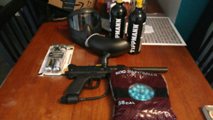Paintball gun and more