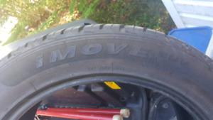 "Ironman Imove SUV tires 22"""