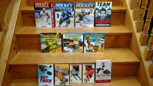 12 hockey related children's picture and chapter books