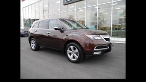 2011 Acura MDX Fully Loaded SUV, Crossover