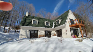 Belle maison 5 min ski Bromont et vue sur le lac
