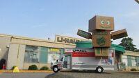 entreposage a st-leonard/bureau d'affaire/location camion/uhaul