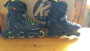 USED  Men's Rollerblade brand inline skates