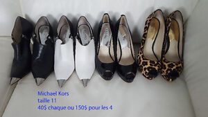 souliers Michaels Kors taille 11
