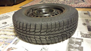 4 pair of Michelin winter Tire/Rim 195/70   R14
