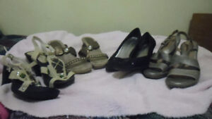 4 pairs of summer shoes