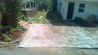 skilled landscapers for hire set your own  budget with us.