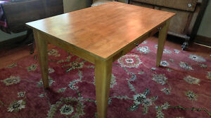 Hardwood Dining Table (no chairs)