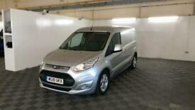 2018 FORD TRANSIT CONNECT 240 TDCI 120 L2H1 LIMITED LWB LOW ROOF PANEL VAN DIESE