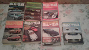 Ancienne revues Road & Track back issues