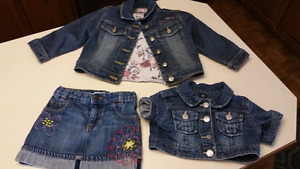 2T to 3T..Girls.Stampede western outfit..excellent condition