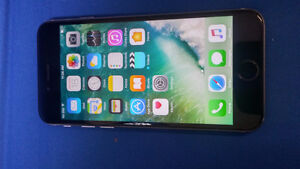 IPHONE 6 16 GB BLACK COLOR unlocked Used Good- Finger Not Work