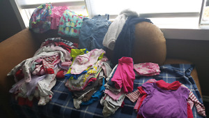 0-6 month girl clothing lot