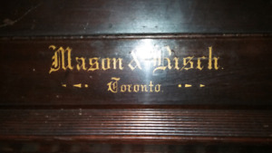 Mason and Risch Piano 1800s antique serial  3534.