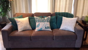 Pillows and throw  (package deal)