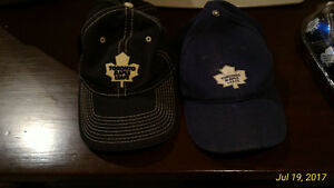 Toronto Maple Leaf  hat and Xmas decorations