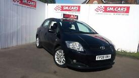 2008 08 TOYOTA AURIS 2.0 DIESEL D4D T3 5DOOR.GREAT VALUE FORMONEY.FULL S/HISTORY