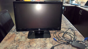 """20"""" HP 2011x LED backlit monitor for sale London Ontario image 3"""