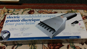 Electric windshield scraper brand new great used for winter