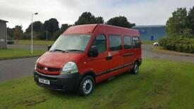 Renault Master 2.5TD LM39dCi 100 ONLY 40K FROM NEW MINI BUS