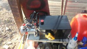 15 quart double acting hydraulic pump