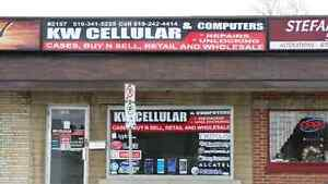 KW CELLULAR, CELL PHONE, IPOD, TABLET REPAIR AND UNLOCKING...