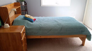 single drawer  bed and mattress sale