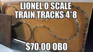 Lionel o scale train tracks