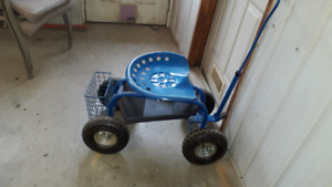 Garden Cart with Seat