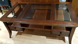 Hardwood coffee table for sale