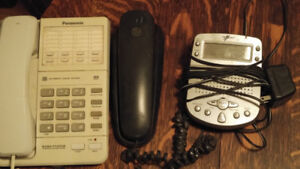 Two phones and an answering machine