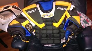 Brown JB2050 Elite Chest Protector