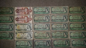 a whack of old Canadian bills!! see my other awesome ads!!!!!!!! London Ontario image 3