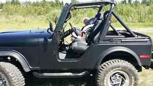 83 Jeep CJ with a 350. Trade for SXS