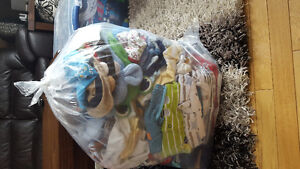 HUGE lot of baby boy clothing
