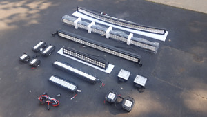 LED LIGHT BARS AND PODS ALL SIZES
