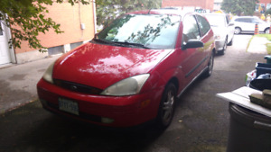 2000 Ford Focus ZX3 / 4 Winters / 2 extra rims / Manual