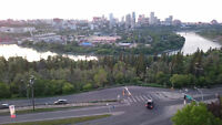 Beautiful room w/ view located close to Whyte Ave and UofA