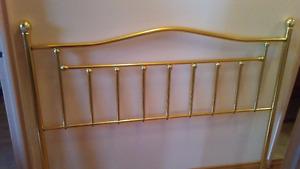 Brass Queen Sized Head Board