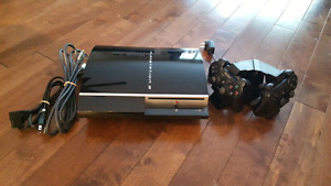 Sony Playstation 3 Bundle- 2 Controllers, Charger, Games!