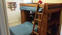 BUNK BED BERDROOM SET FOR KIDS