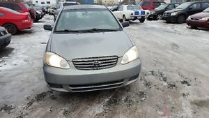 2004 Toyota Corolla...Inspected and Serviced